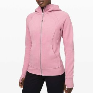 Lululemon Scuba Hoodie Light Cotton Fleece Pink 4